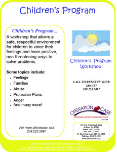 Click image to see full size flyer.