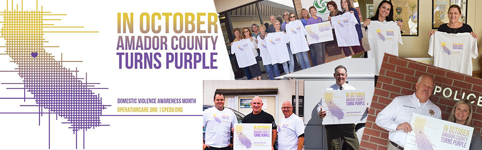 Amador County is Turning PURPLE