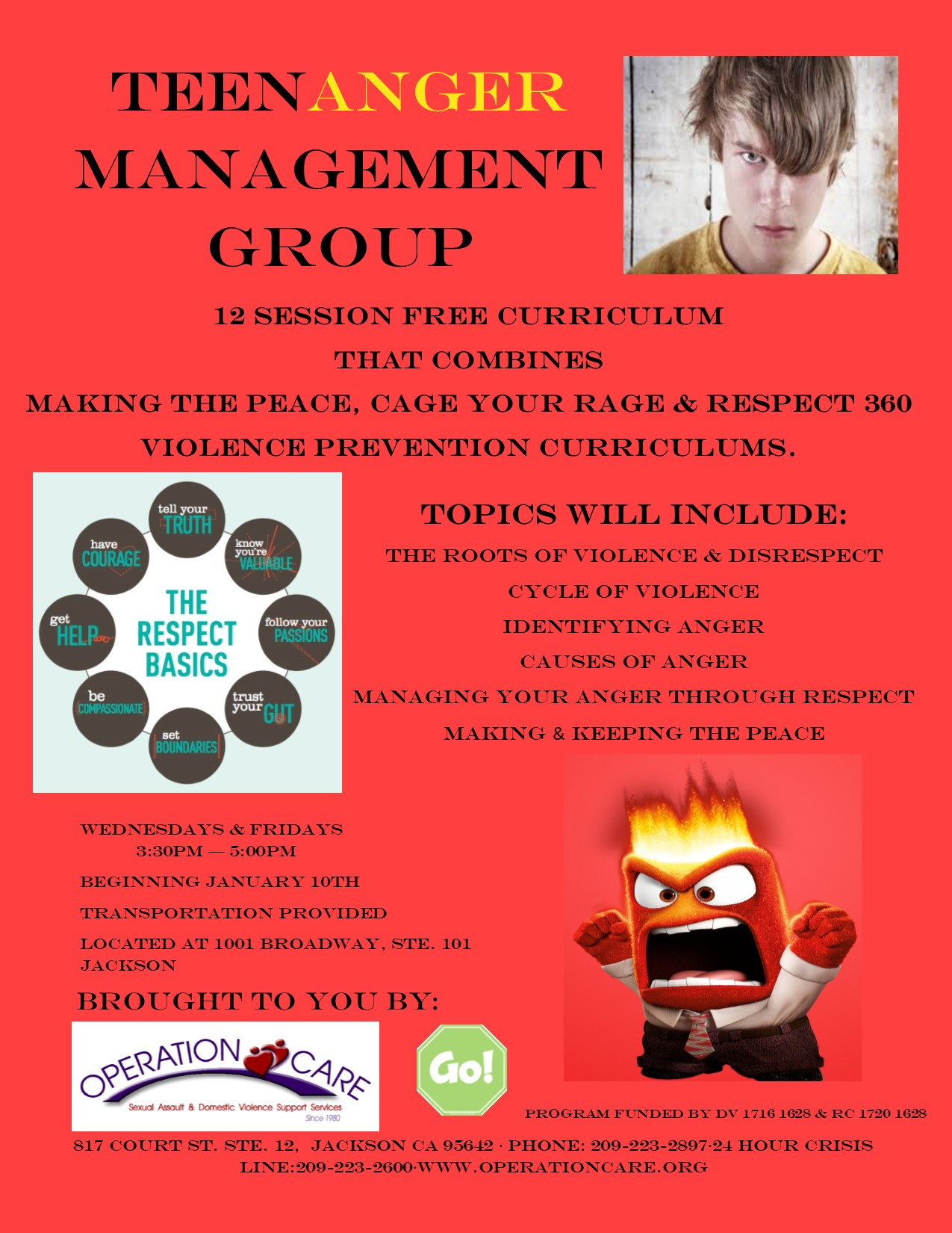 teen anger management According to the american psychological association, when a teen's anger gets out of control and turns destructive, it leads to problems at school, in.